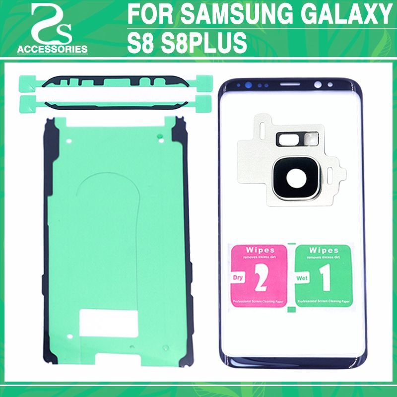 10Pcs NewS8 S8 plus Front Glass Lens For Samsung Galaxy S8 G950 G950F / S8 plus G955 Screen Glass Front Outer Lens Panel
