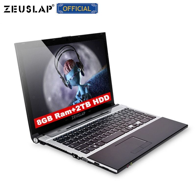 15,6 zoll 8gb ram 2tb hdd intel core i7 windows 10 system 1920x1080p full hd wifi bluetooth dvd rom Notebook PC Laptop Computer