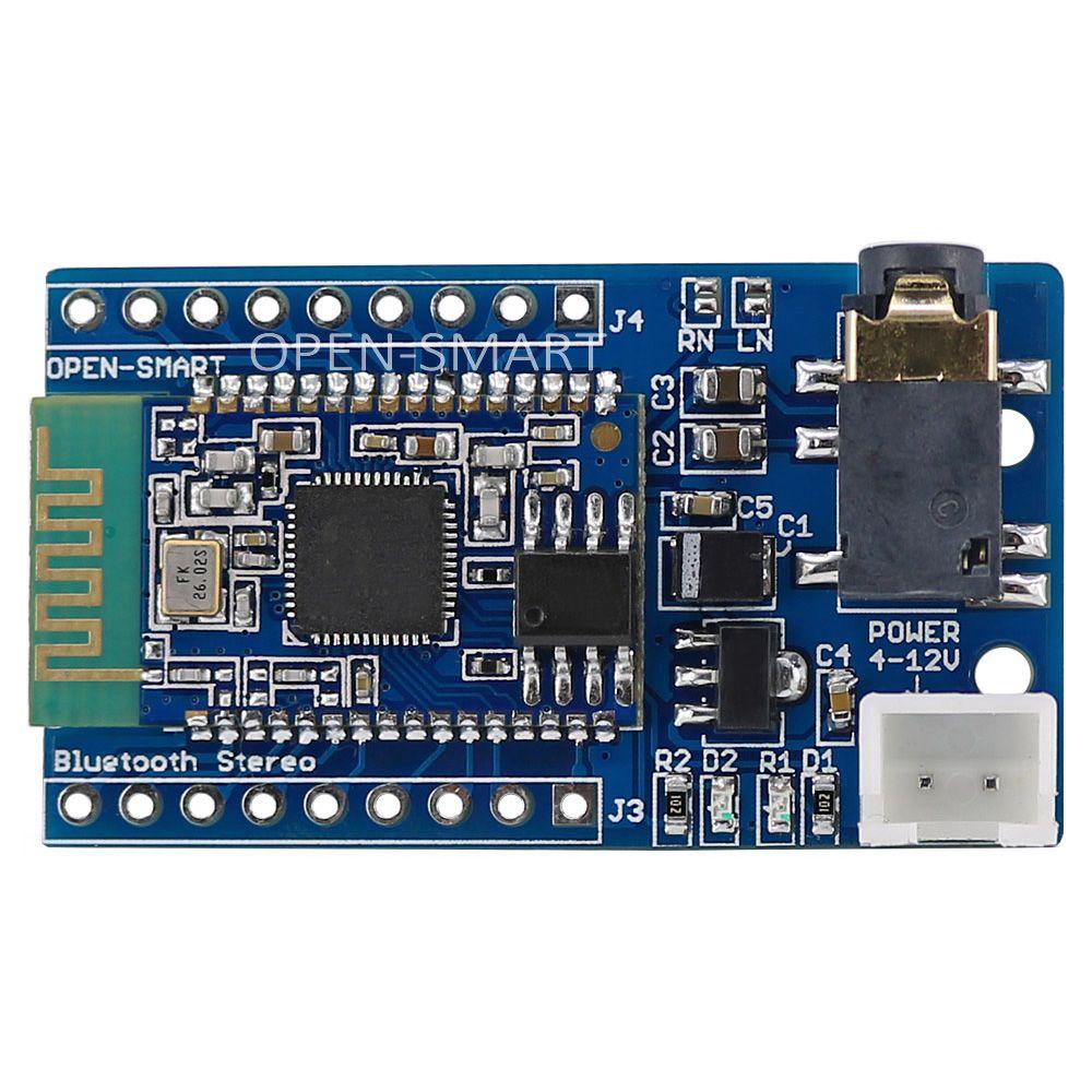 BK8000L Bluetooth Stéréo Audio Musique Lecteur Module avec Audio Jack sfe module Récepteur pour Haut-Parleur amplificateur DIY