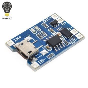 Умная электроника 5 В Micro USB 1A 18650 литиевая Батарея зарядки доска с защитой Зарядное устройство модуль для Arduino DIY Kit