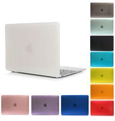 Mat Caoutchouté Housse Dur Pour Macbook Pro 13 15 Pro Retina 12 13 15 Macbook Air 11 13 A1706 A1708 Ordinateur Portable Shell-YCJOYZW