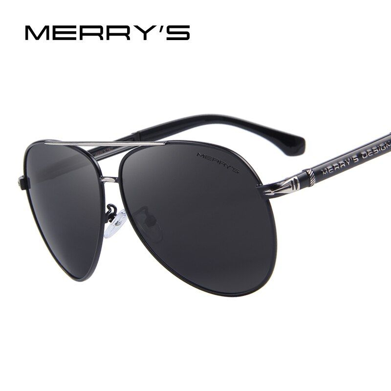 Merry's Дизайн Для мужчин Классический бренд Солнцезащитные очки для женщин HD поляризованные Алюминий Защита от солнца очки Роскошные Оттенки...