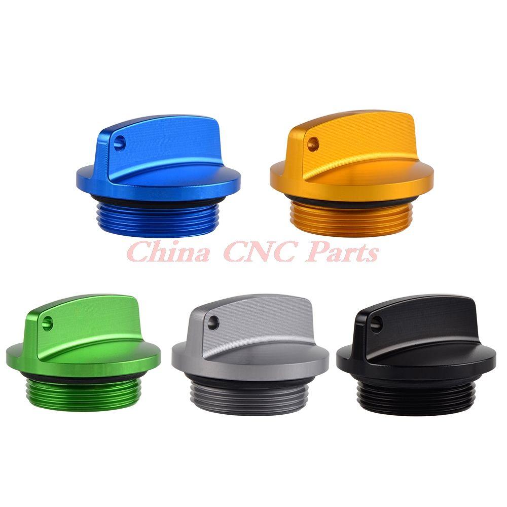 Motorcycle CNC Oil Filler Cap Plug For Kawasaki Z250 Z750/S Z1000 ZR7/S GPZ1100 400 550 750 900R KL250 650 KLF110 220 300 KLR