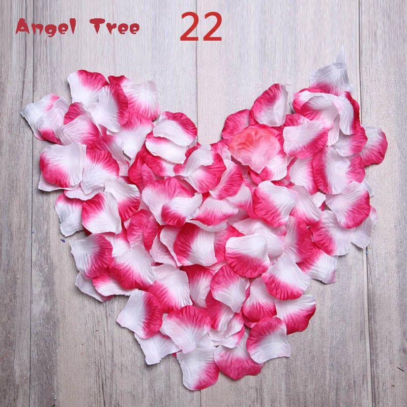 Newest 2000pcs/lot Petalas Rose Petals Wedding Decorations Artificial Flowers Rose Rose Petals De Boda Petali Accessorie