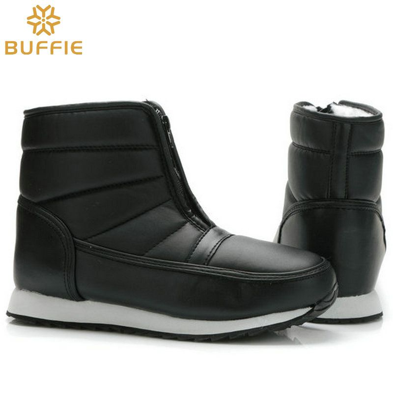 men winter boots big yards short style snow boots warm fur waterproof upper antiskid outsole father grandfather boy winter boots