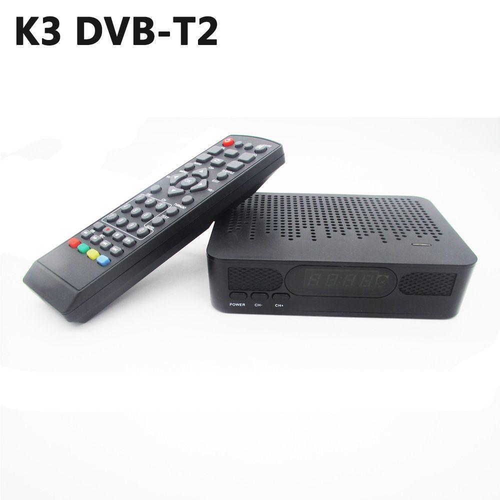 K3 DVB-T2 dvb-t спутниковый ресивер HD цифровой ТВ тюнер рецепторов MPEG4 DVB T2 H.264 наземного ТВ приемник dvb t Декодер каналов кабельного телевидения