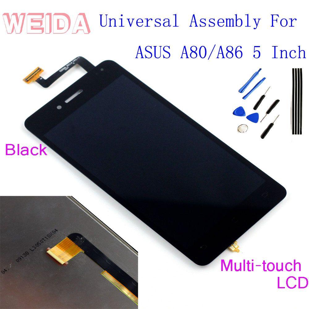 WeiDa Für ASUS PadFone A86 A80 LCD Display Touchscreen Digitizer Unendlichkeit Montage + Werkzeuge und Band Ersatz
