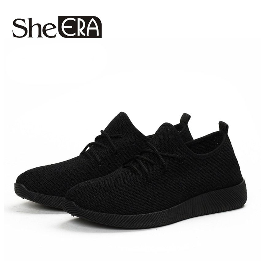 Women Sneakers Light Weight 2018 41 Woman Casual Shoes Slip On Lazy Shoes Comfortable Candy Color Breathable Net Shoe
