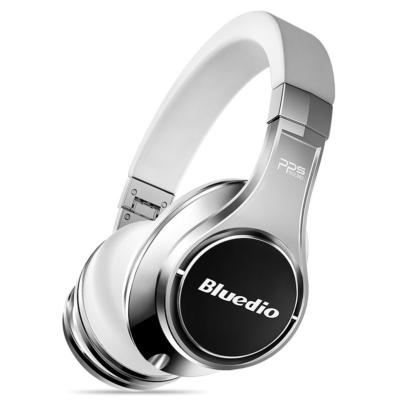 Bluedio U(UFO)2 High-End Bluetooth Headphone Patented 8 Drivers HiFi Wireless Headsets With Microphone for phone <font><b>voice</b></font> control