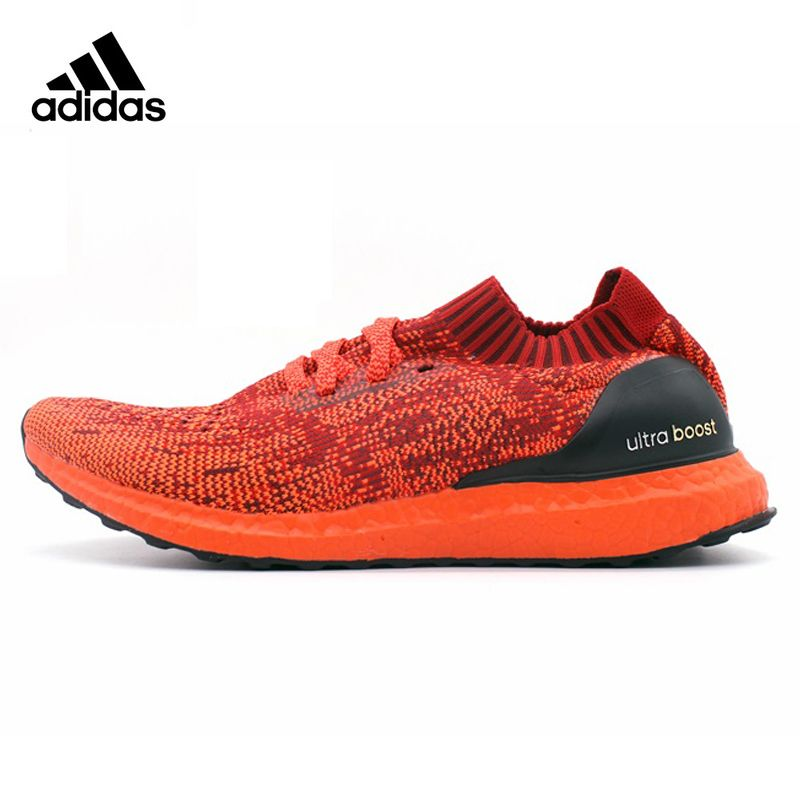 Adidas Ultra Boost Uncaged Men's Running Shoes ,Original Sports Outdoor Sneakers Shoes,Red ,Damping Packaged Light BB4678