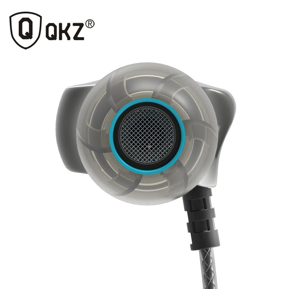 QKZ DM7 écouteur métal stéréo isolation du bruit dans l'oreille écouteur musique casque Auriculares fone de ouvido DJ audifonos DJ MP3