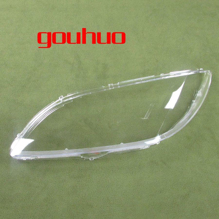 headlight shell Lampshade headlamp cover lamp headlights glass shell For Mazda 3 M3 (sedan) 06-12 2pcs