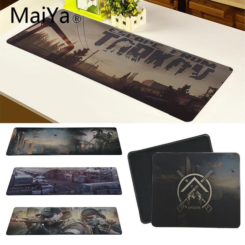Maiya haute qualité échapper de Tarkov belle Anime tapis de souris en caoutchouc PC ordinateur jeu tapis de souris