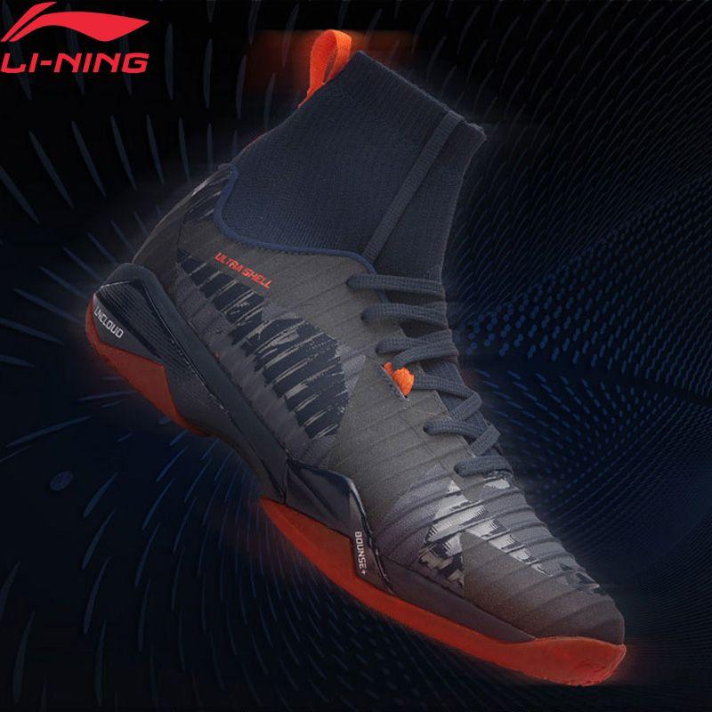 Li-Ning Männer SCHATTEN VON KLINGE PRO Professional Badminton Schuhe BOUNSE + Futter WOLKE Turnschuhe TUFF RB Sport Schuhe AYAN005 XYY079