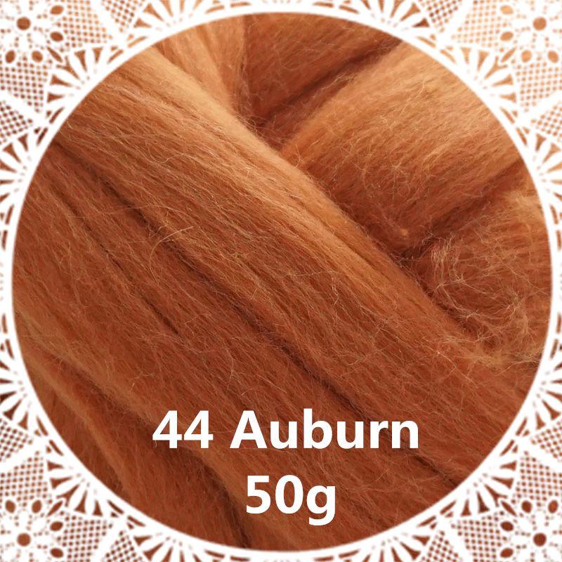 Livraison gratuite main Feutre De Laine pour le feutrage 50g Auburn Parfait en Feutre Aiguilleté 15 #