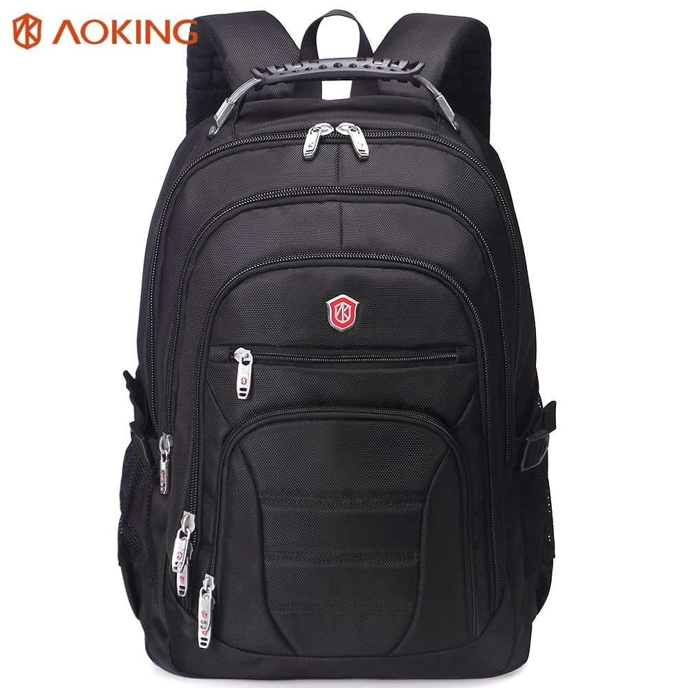 Aoking Original Brand New Patent Design Massage Air Cushion1 Men's <font><b>Laptop</b></font> Backpack Men Large Capacity Nylon Comfort Backpacks