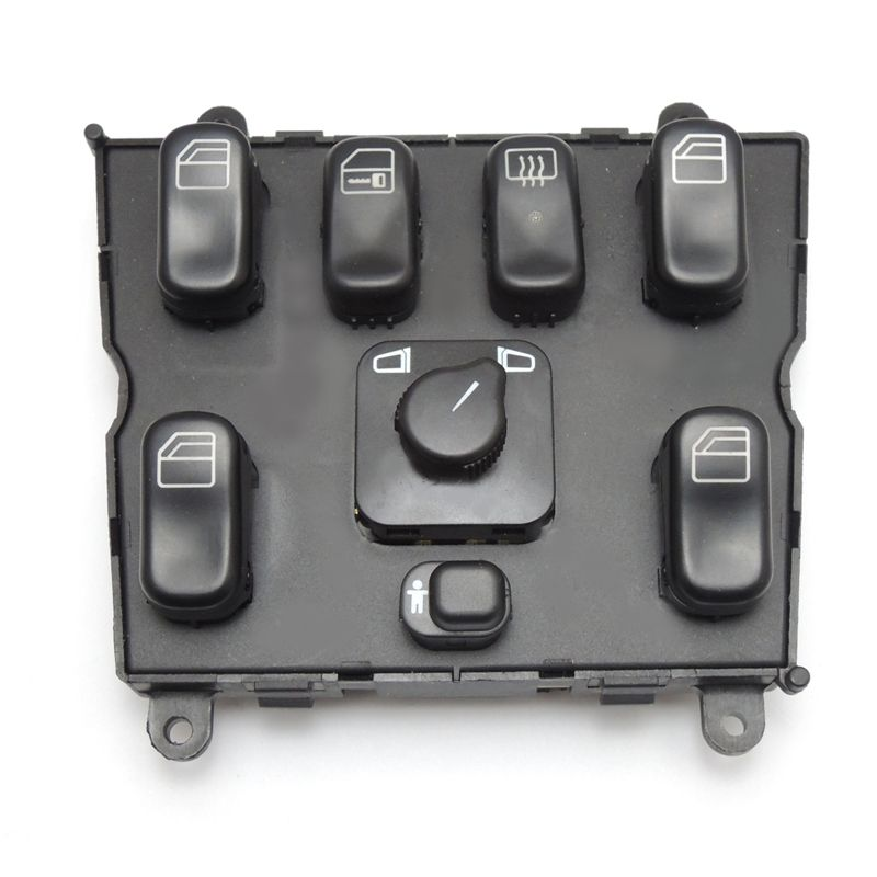 KEMiMOTO A 1638206610 Power Window Switch for Mercedes-Benz ML320 W163 ML400 ML430 ML500 A1638206610 163 820 6610