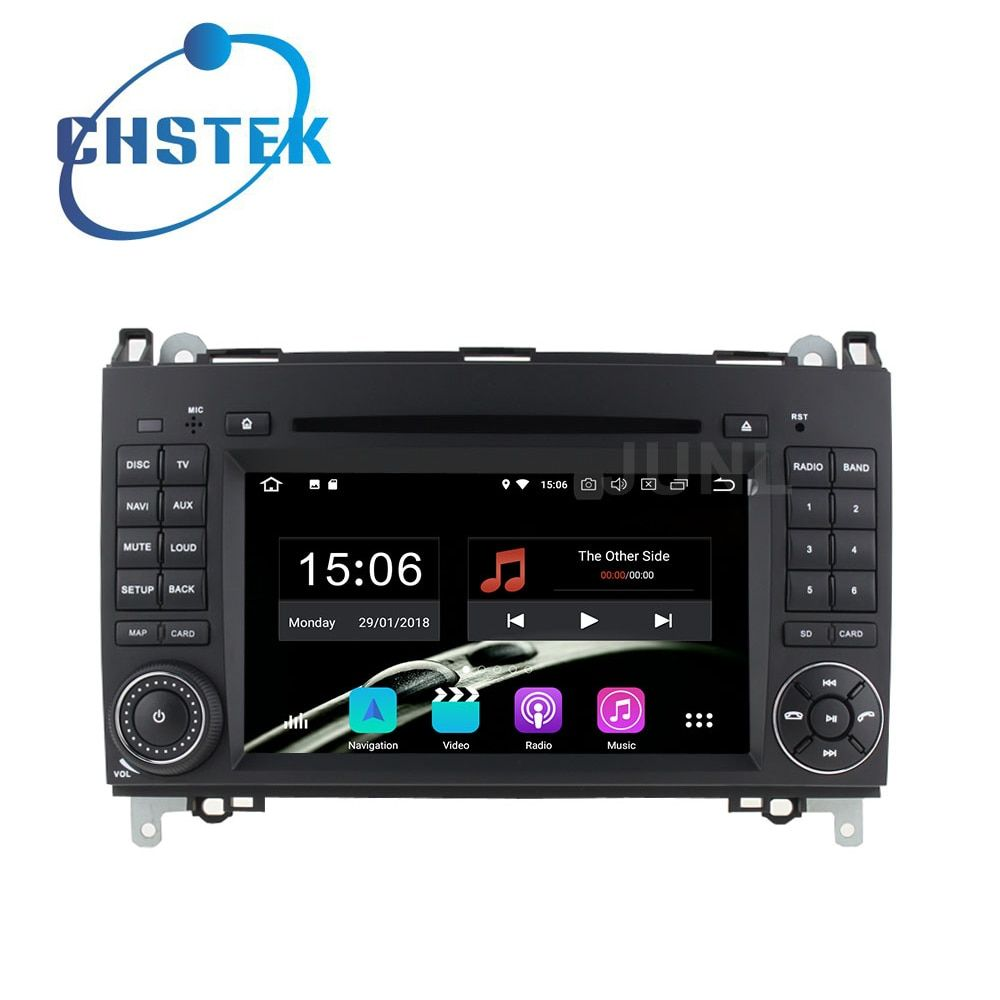 Octa core Android 8.0 Car DVD Player Radio GPS for Mercedes/Benz B200 W169 W245 Viano Vito Sprinter W906 W209 A180 VW Crafter