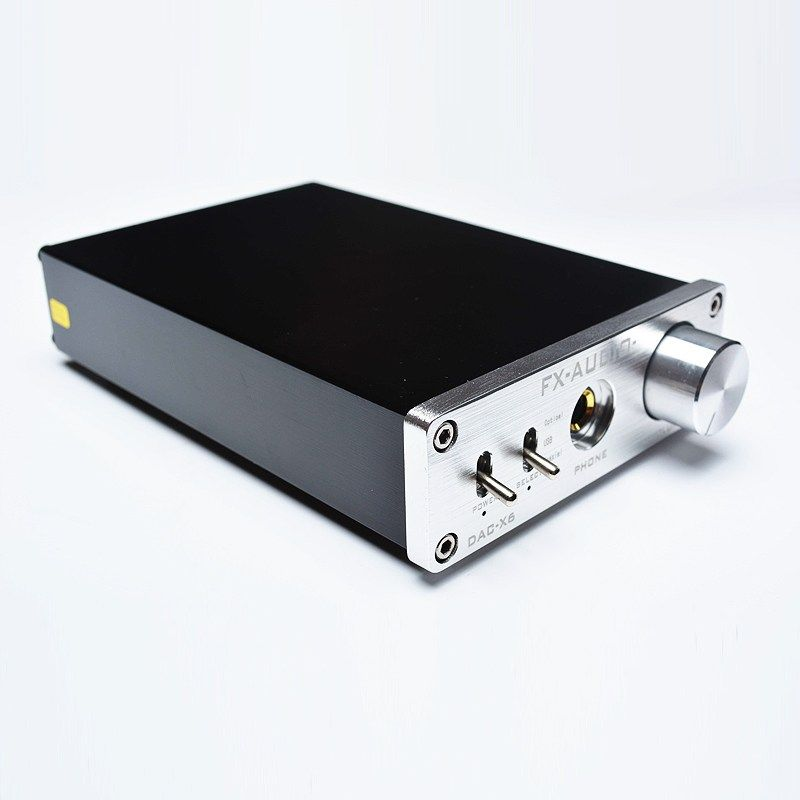 FX-Audio DAC X6 Fever HiFi Optical Coaxial USB Amplifier Digital Audio Frequency DAC Decoder Headphone AMP 24BIT/192 DC12V 1A