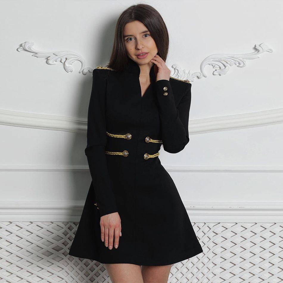 Seamyla nouveau printemps élégant femmes robe à manches longues Sexy noir rouge célébrité soirée robes de soirée piste robe de Club Vestidos