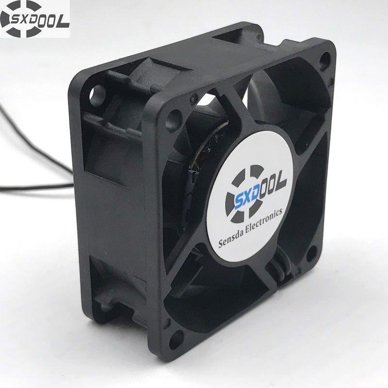 SXDOOL EC ventilateur de refroidissement Axial sans brosse 60mm 6 cm AC 110 V 115 V 220 V 230 V 5 W 5500 tr/min 25.2CFM grand débit d'air économie d'énergie