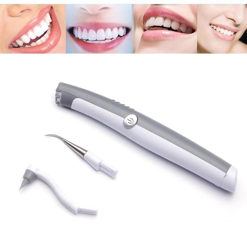 1PC Professional Dental Cleaning Tools Electric Sonic Pic Tooth Stain Eraser Plaque Remover Portable Teeth Whitening Instruments
