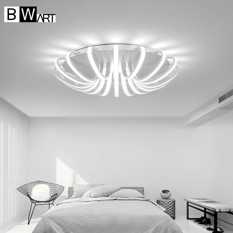 BWART White High Power LED Ceiling chandelier For Living Room Bedroom Home Modern Led Chandelier Lamp Fixture