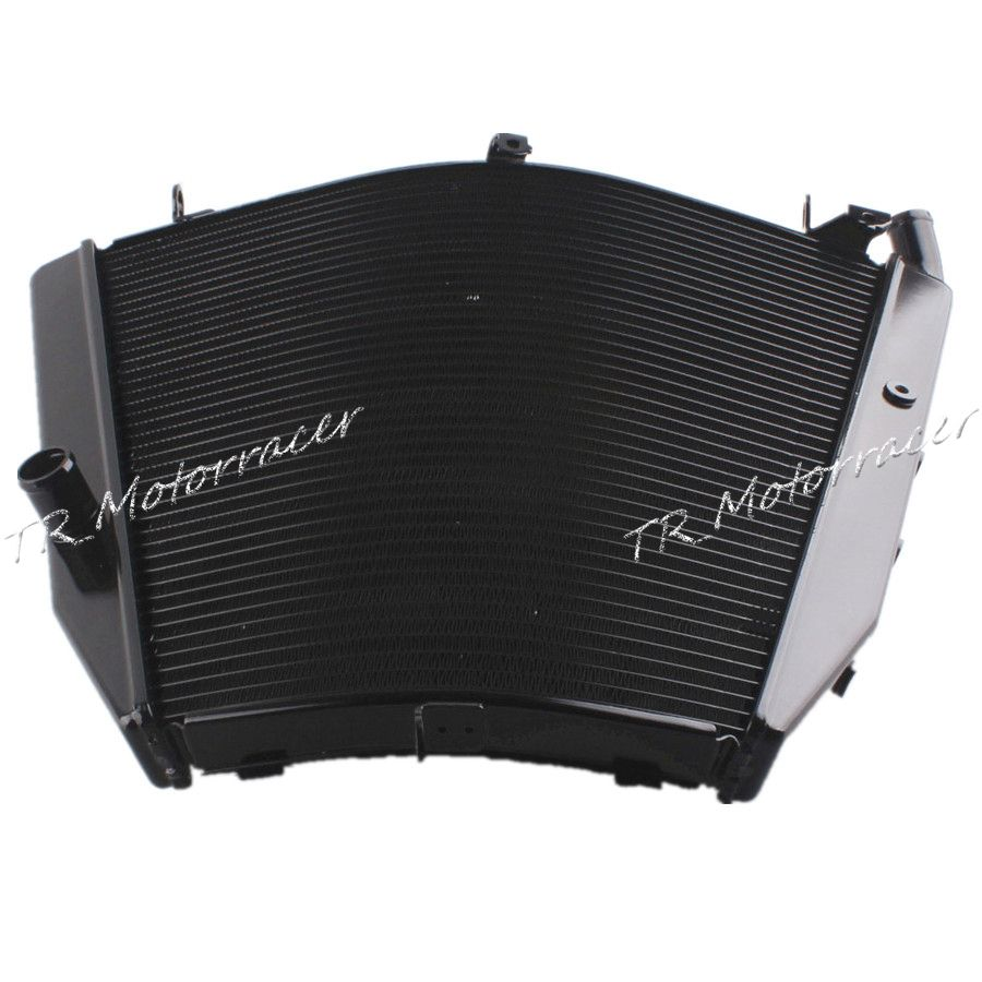Radiator Cooling Cooler For Honda CBR1000 04-05 CBR1000 RR 2004 2005 Aluminum Replacement BLACK