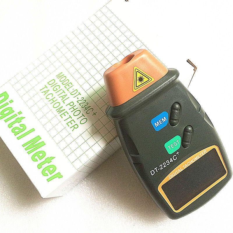 Tachymètre photo numérique DT-2234C + tachymètre numérique moteur tachymètre numérique tachymètre Photo Laser numérique Tach sans Contact