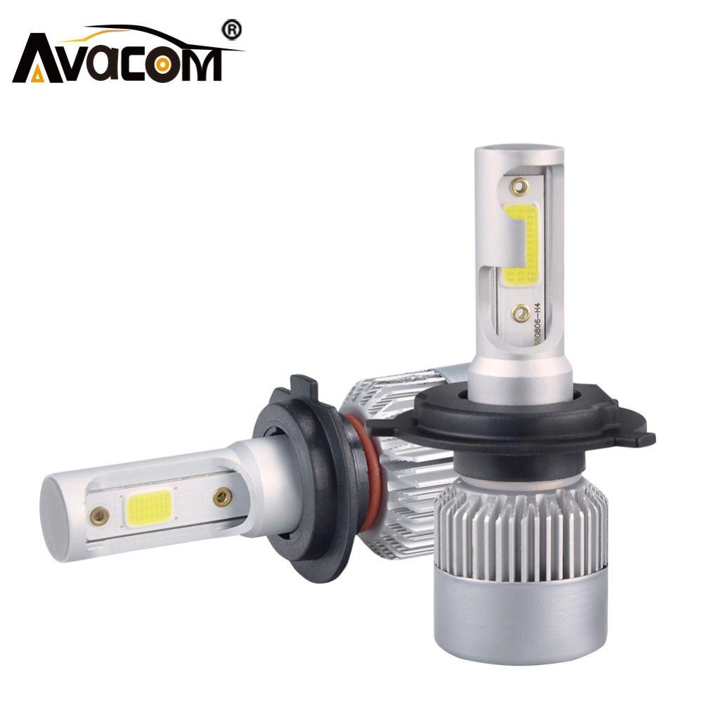 H7 H1 LED Car Headlight Bulbs H11 H8 H9 LED Auto <font><b>Lamp</b></font> 9005 HB3 9006 24V 72W 8000Lm 6000K COB 12V LED HB4 H4 Car Bulb Fog Light