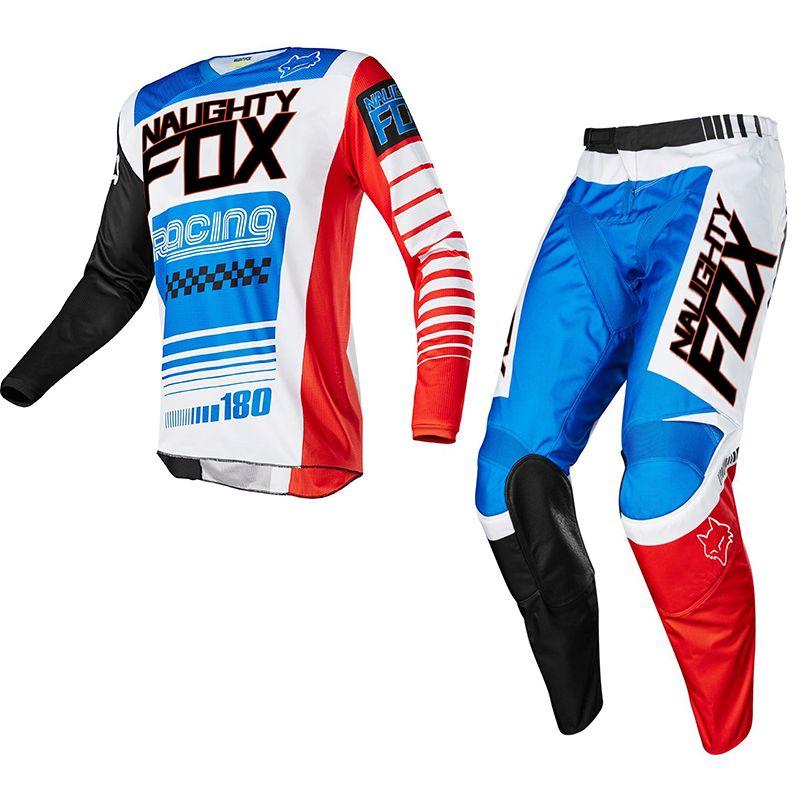 Racing 180 Rennen Falcon Nirv Jersey Hose Set MX MTB Motocross ATV Dirt Bike Hemd Anzug Off-Straße Mens racing Getriebe