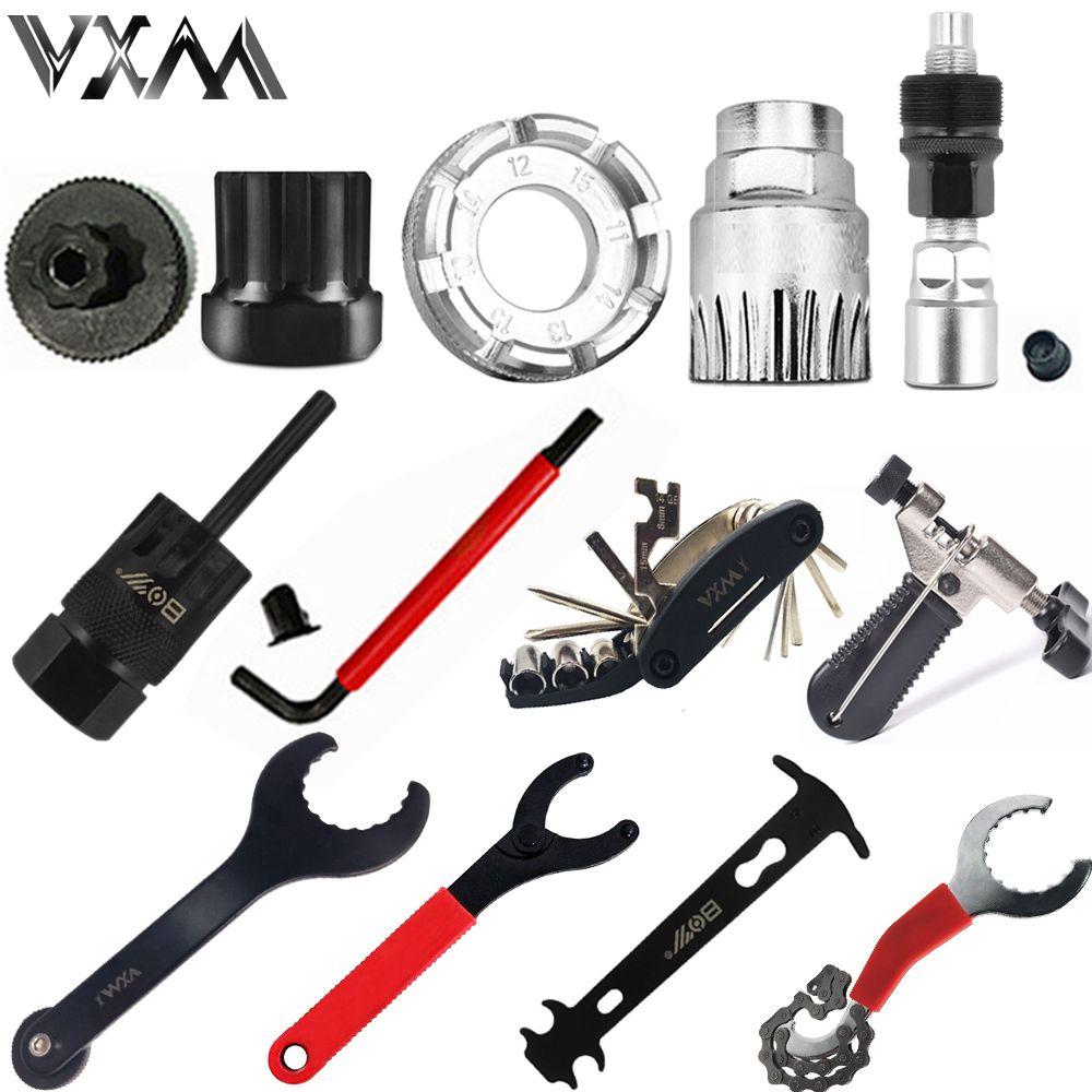 Heißer verkauf fahrrad repair tool schwungrad remover buchse tretlager entfernen steckschlüssel kette cutter kurbel entfernen werkzeug
