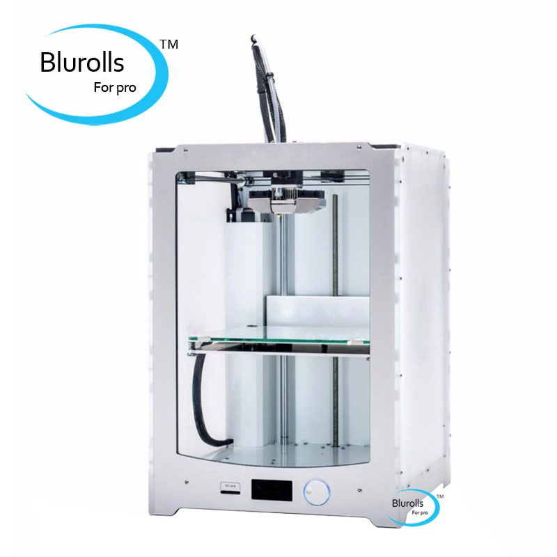 Blurolls Ultimaker 2 Extended 3D printer clone DIY full kit/set(not assemble) single nozzle Ultimaker2 Extended+ 3 D printer