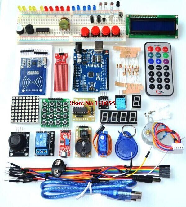 Upgraded Advanced Version Starter Kit the RFID learn Suite Kit LCD 1602 UNO R3