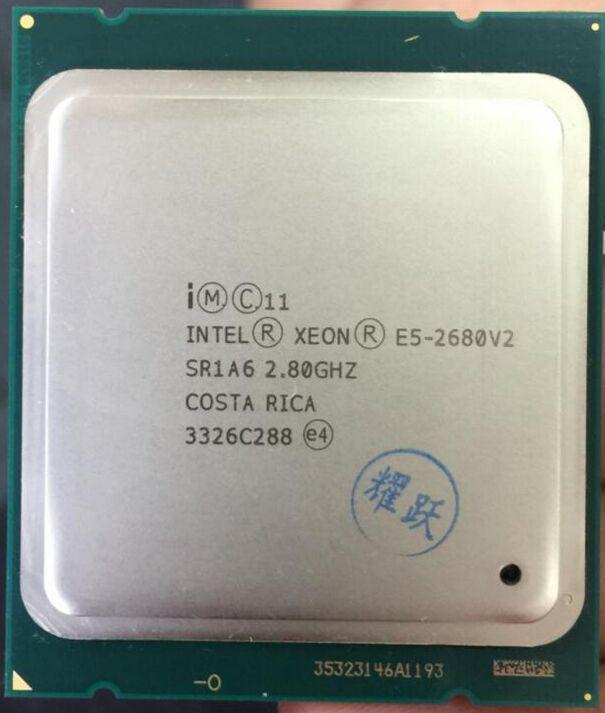 Intel Xeon E5 2680 V2 SR1A6 CPU Prozessor 10 Core 2,80 GHz 25 Mt 115 Watt E5-2680 V2 2,8G