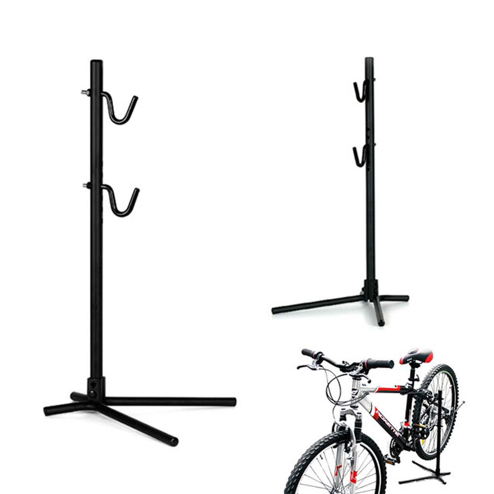 Height Adjustable Bike Bicycle Rear Stay Bracket Stand Repair Holder Outdoor Riding Cycling Rack Parking Holder Stand Tool