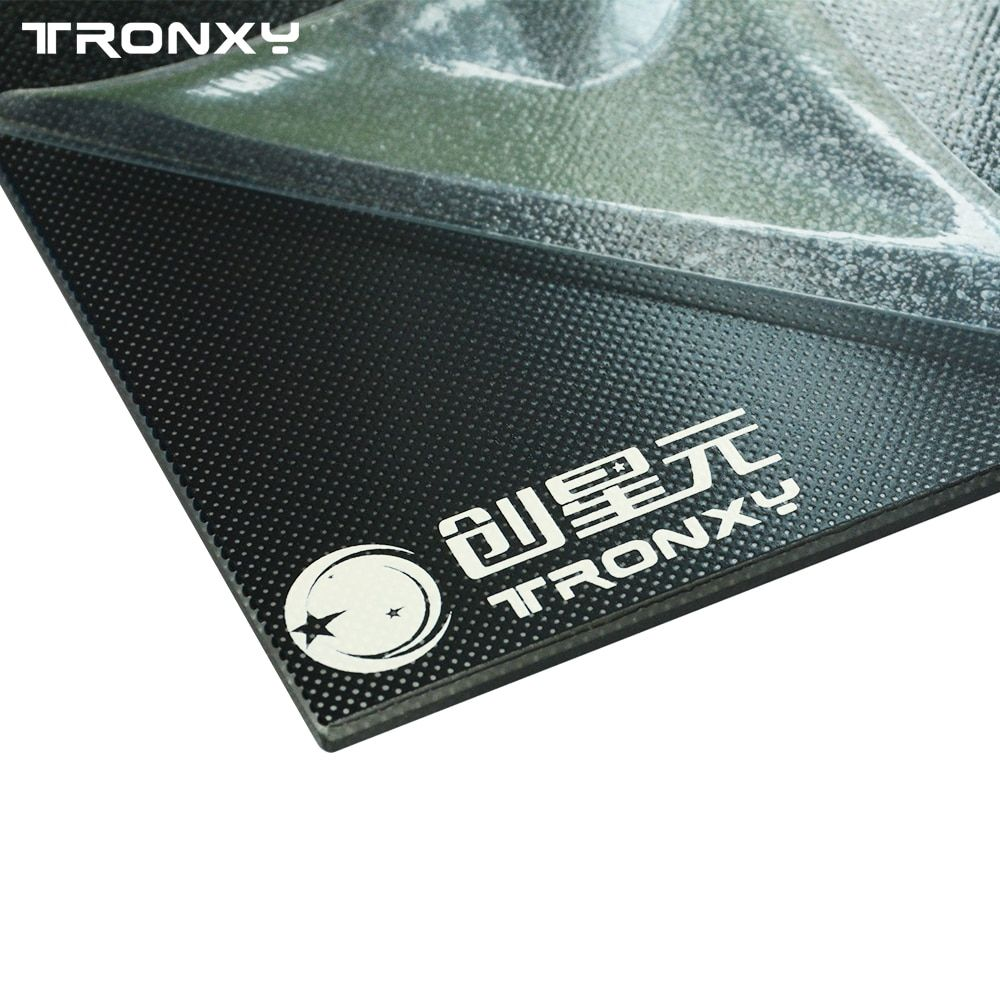 Tronxy 3d printer parts Glass Plate 220*220/330*330mm Heat bed Lattice Glass Hotbed Build Plate 3d printing