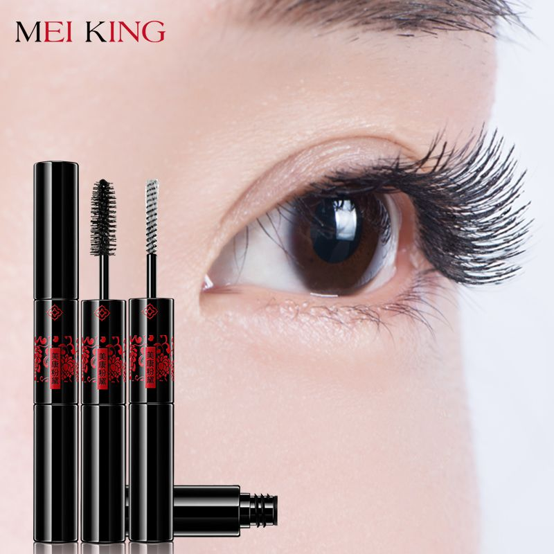 MEIKING Makeup Mascara Long Black Lash Mascara Volume Lengthening Twisting Eyelashes Extension Quick Dry Waterproof Cosmetics 3D