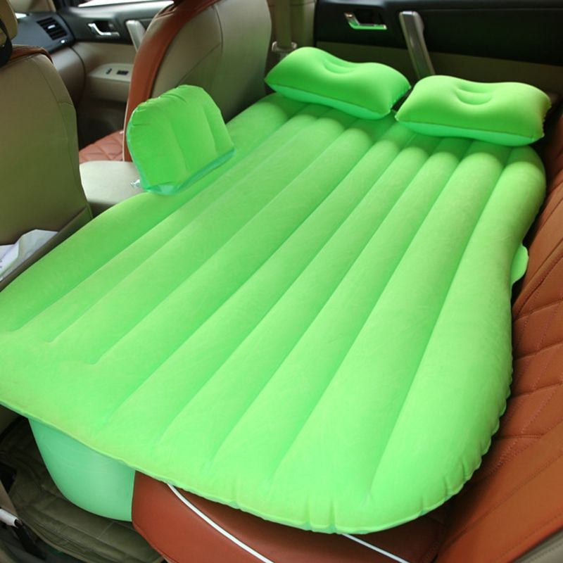 Automotive Air Mattress Travel Air Bed Camping Inflatable Sofa Car Rear Seat Cushion With Pillow Good Quality For bmw e87 f34