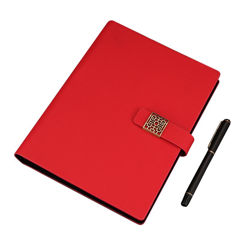 RuiZe créatif magnétique en cuir spirale cahier A5 vintage carnet de notes bureau papeterie affaires bloc-notes planificateur agenda recharge