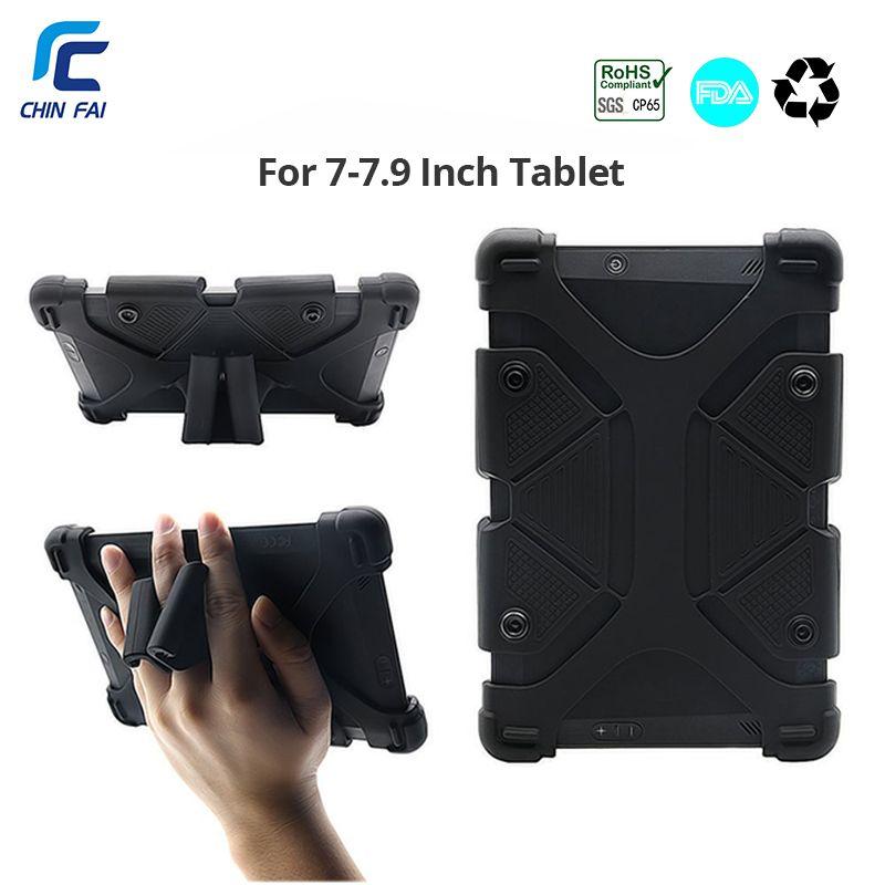 Étui de tablette universel pour Kindle Fire 7 coque en silicone pour Aoson S7/S7 Pro 7 pouces Lenovo Tab2 A7 Samsung SM-T285 7 pouces tablette