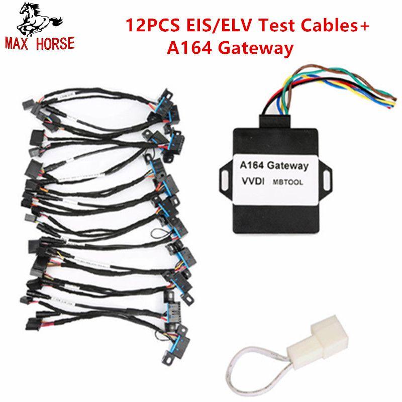 Für Mercedes Test Kabel von EIS ELV Test Kabel für Mercedes Arbeitet Zusammen mit VVDI MB BGA Werkzeug 12 teile/satz