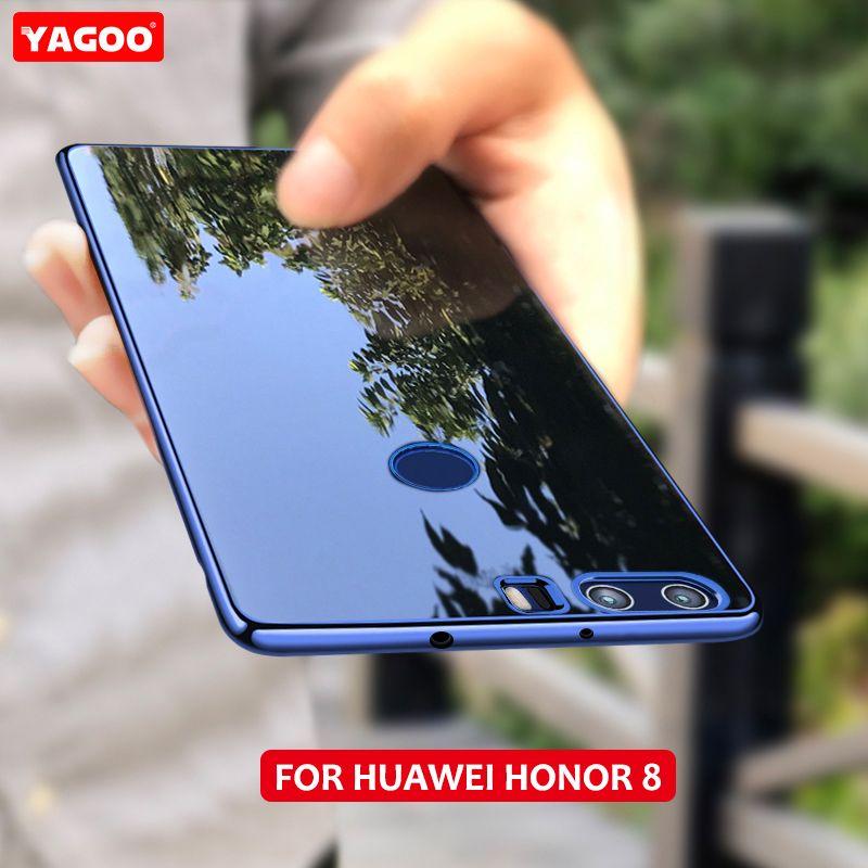 Huawei Honor 8 чехол силиконовый прозрачный ТПУ для Huawei Honor 8 задняя крышка yagoo Роскошные Huawei Honor 8 принципиально Coque 5.2