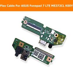 Asli USB PCB Port Fleksibel Kabel Pengisi Daya untuk ASUS Fonepad 7 LTE ME372CL K00Y Mendongkrak Port Fleksibel Kabel dengan konektor USB Modul