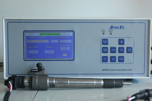 BST203-C piezo & electromagnetic common rail injector tester 60Hz frequency (New Research, SD card, LCD screen)