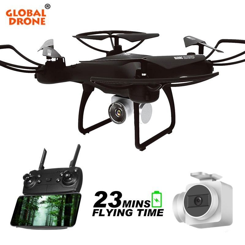 Global Drone GW26 Dron with HD Camera Remote Control Helicopter Remote Control Toys Quadrocopter with Camera VS syma x5c
