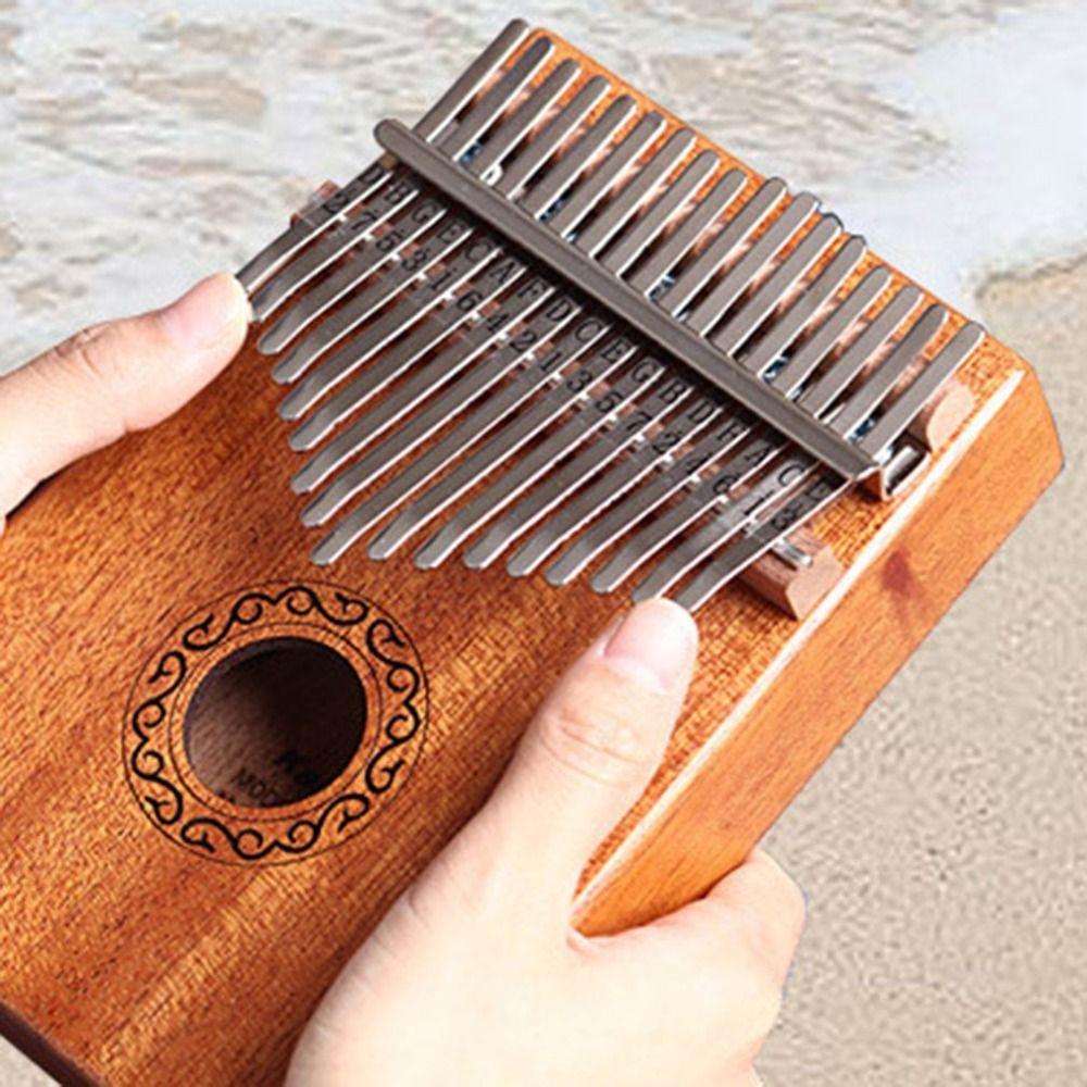 10/17 keys Kalimba African solid Mahogany Acacia Thumb Finger Piano 17 keys Solid Wood Kalimba Musical Instrument VIP only