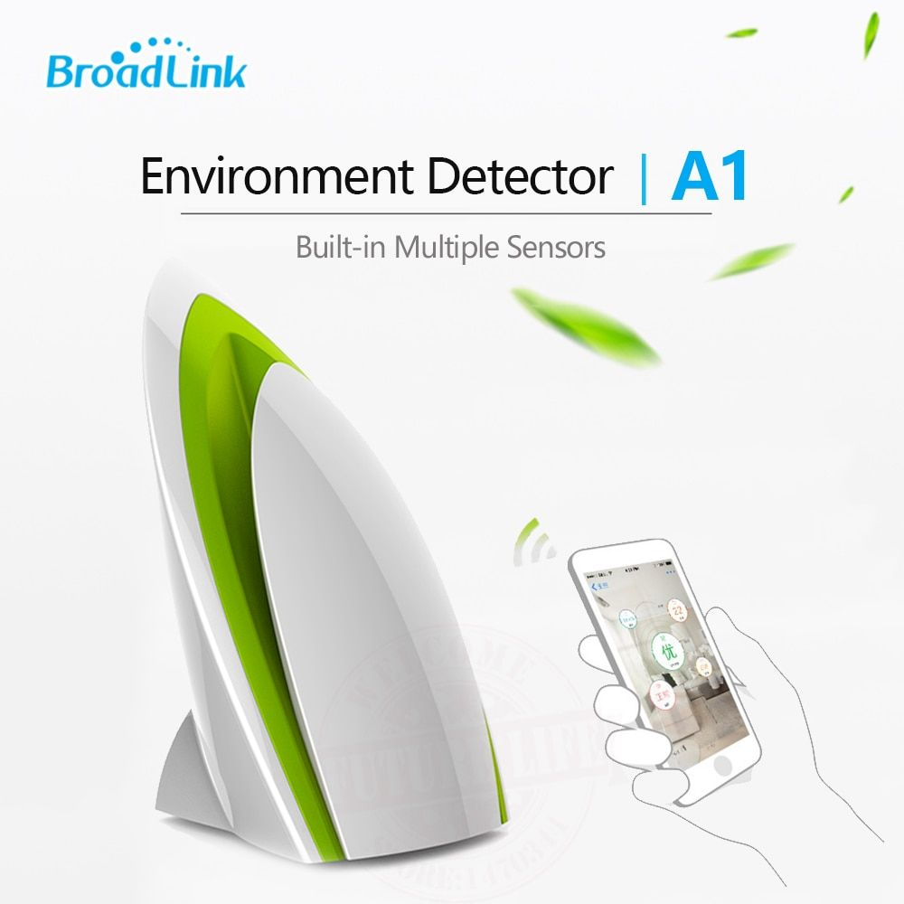 2017 New Air Quatily Detector Testing Air Humidity PM2.5 Intelligent Home Systems Broadlink A1 by WIFI/4G Infrared