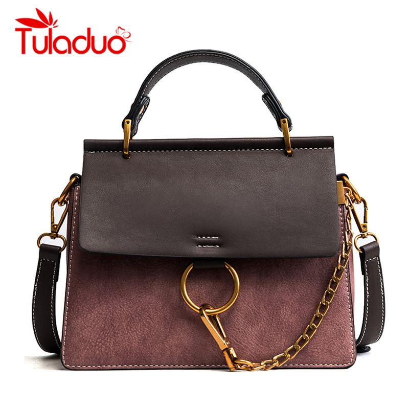 Tuladuo Women <font><b>Messenger</b></font> Bags New Luxury Brand Ladies Shoulder Bags High Quality Designer Chain Handbags Flap Crossbody Bags