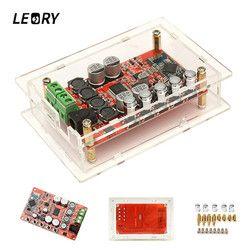 LEORY TDA7492P Upgraded 50W Wireless Bluetooth Digital Amplifier Board Chips CSR4.0 HIFI Audio 5532 Dual Operational Amplifier